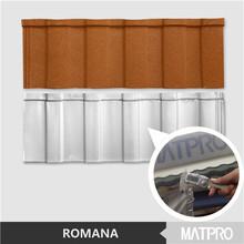 2015 heat Matpro beauty color stone coated metal roof 0.45mm roofing steel sheet light