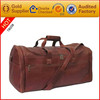 wholesale luggage duffel travel gym sports overnight weekend leather bag