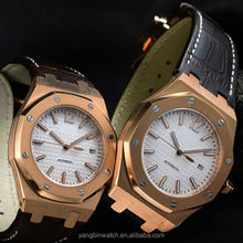 2015 Hot sale new fashion stainless steel no battery automatic watch for men