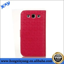 Double Colors Leather Cell Phone Case For Samsung Galaxy S3,Leather Faceplate Mobile Phone Case For Samsung Galaxy Note 3.