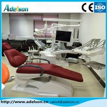 Manufacture of 3-Memory Program Dental Chair Unit with LED sensor lamp light cure and scaler,CE and ISO