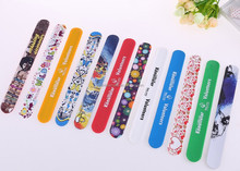 Branded Fashion Sport Silicone Rubber Wristband Silicone Slap Band In Cartoon