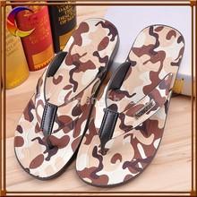 Different designs PVC outsole material wholesale Flip flop man slipper