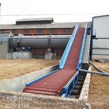 Chain plate conveyor belt for paper industry