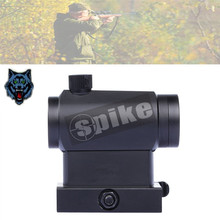 SPIKE Tactical Red & Green Dot Sight Scope /Compact Red Dot for Rifle 20mm Rail Mounts