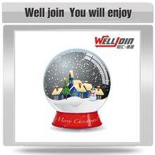 Most popular best quality colorful wedding snow globe