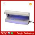 portátil de la falsificación de dinero detector de uv de gran fabricante