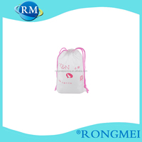 EVA eco style homes plastic shopping bags made in China transparent accept printing QR code