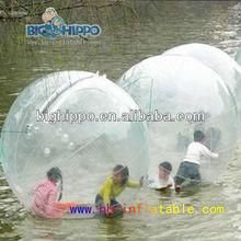 2014 summer season HOT sale PVC / TPU water walking ball / inflatable water ball
