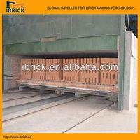 Modern european type tunnel kiln for roasting bricks, chinese top engineers designing
