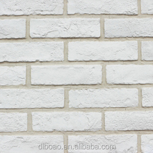 White Home Decorative Artificial Bricks for wall decoration