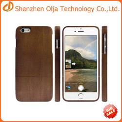 China wholesale 100% real wood cover case for iphone 6,for iphone 6 wood case