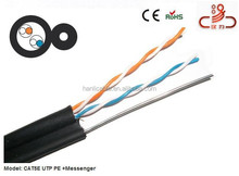Provides high-speed internet 2pr utp cat5e cable with 1.3mm Messenger
