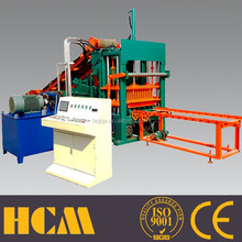 automatic hydraulic concrete hollow brick machine QT4-20C lasted machinery products from china