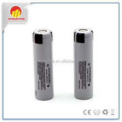Best supplier Mod battery NCR18650BD 3200mah high capacity 3.7v rechargeable battery with flat top