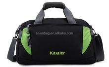 Big capacity Promotion custom nylon travel bag/ sports bag/duffle bag