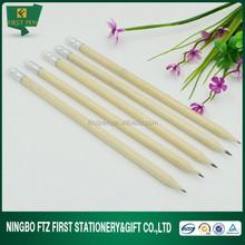 Bulk Wooden Cheap Pencil With Eraser
