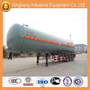new products LPG Semi-trailer LPG tank truck factory directly selling