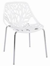 silla de plástico árbol