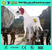 Outdoor custom giant inflatable horse