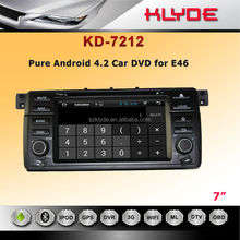 klyde special In dash car dvd navi for E46 with gps navigation system car dvd