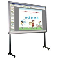 School furniture 82 inches portable finger touch interactive whiteboard with ce, iso, fcc, rohs
