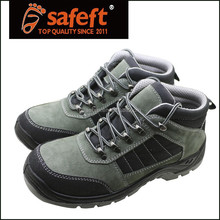 Grey cow suede leather steel toe inserts for shoes original manfacturer