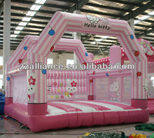 inflatable small bouncer castel 0.55mm pvc inflatable bouncers