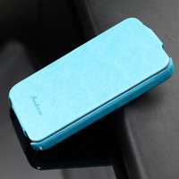 Colorful hot selling PU leather flip cover case for iphone 4 4S wholesale cell phone accessories