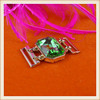 Various color fashion glass stones buckle/rhinestone buckle for dresses decoration