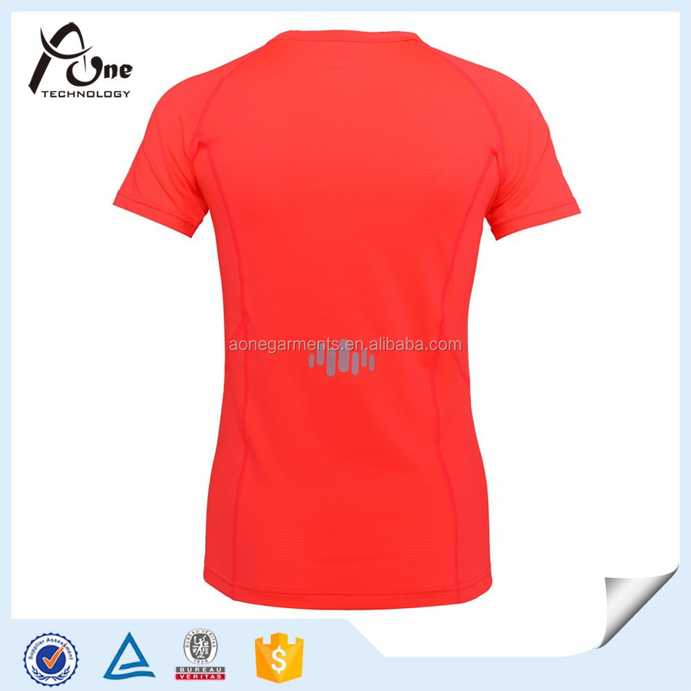 Wholesale Neon Color Custom Plain T Shirt Apparel