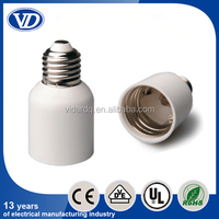 Light bulb socket adapter E27 to E40