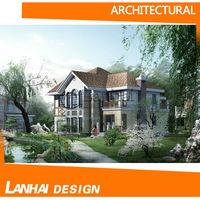 American Style Villa Design