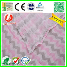 Washed popular thin muslin fabric factory