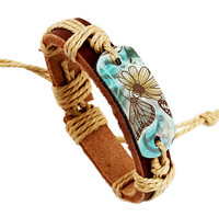 Gifts for High School Student Beautiful Leather Bracelet