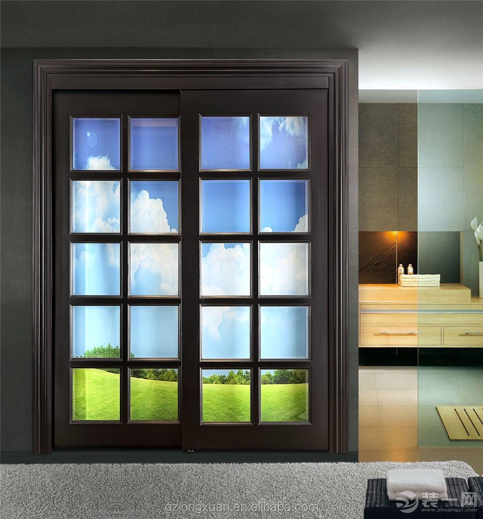 Puertas correderas de cristal y madera fabulous ideas for Fabricar puerta corredera