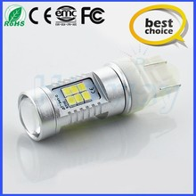 good quality led light w21/5w 3528/2835smd 21SMD for car turn lamp or reverse light turn auto bulb 800lm