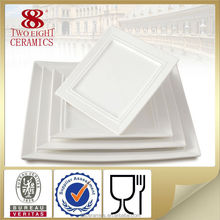 Wholesale Cheap Porcelain Plate, White Dinner Charge Plate Ceramic