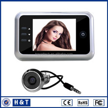 3.5inch peephole viewer with internal memory digital door viewer sf518