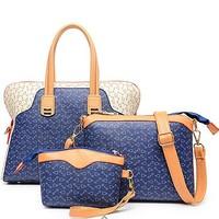 E1034 online wholesale shop trendy woman sets design handbag supplier