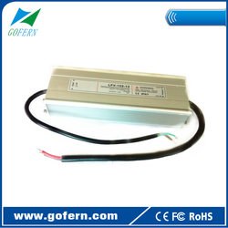 120W waterproof led driver switching power supply