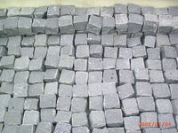 Chinese Zhangpu Black granite paver cheap patio paver stones for sale