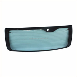 AUTO GLASS TEMPERED REAR WINDSHIELD FOR TOY OTA