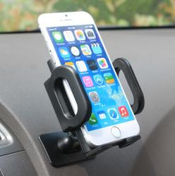 2015 newest promotional black funny cell phone holder for desk or dashboard,Dashboard phone holder