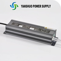 Free colorful box and good quality constant voltage ip67 12V 150W 220v ac to dc converter power supply
