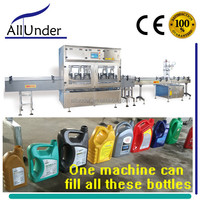 2-5L sticky liquid weighing filling capping machine