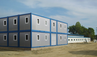 prefabricated/prefab/prebuilt container house/houses for sale