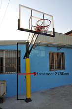 Height adjustable Basketball Equipment basketball system