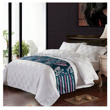 2015 american and european style floral pattern single size 200tc cotton bed linen