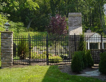 Home Used Wrought Iron Gate(manufacturer)